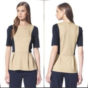 3.1 PHILLIP LIM FOR TARGET Peplum Pleated Top